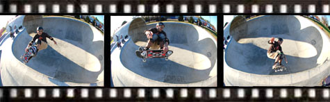 MC - Two Handed Frontside Air @ Pier Park