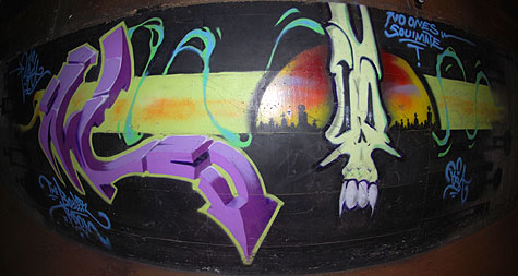 Boiler Room Graf @ Walla Walla