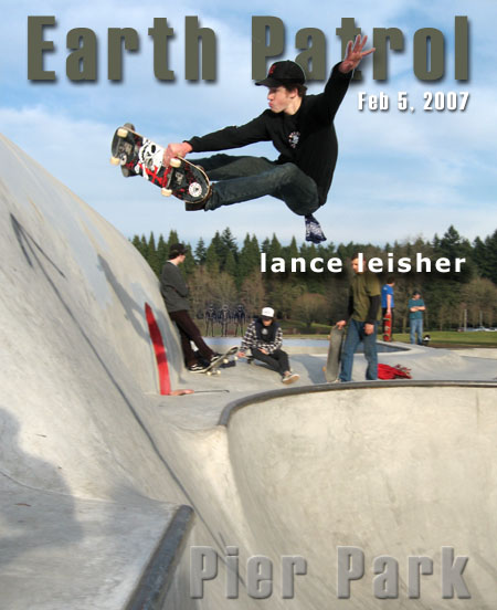 Lance Leisher - FS Straight Leg Air @ Pier