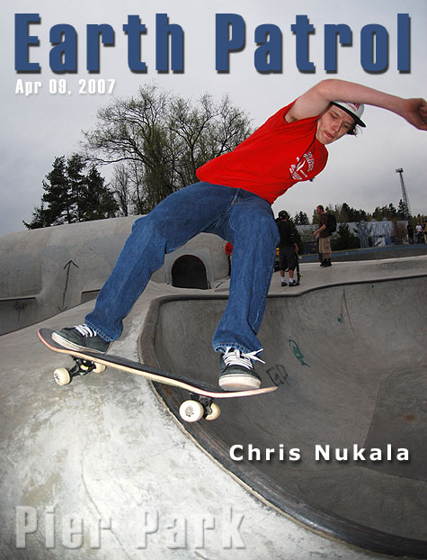 Chris Nukala - Feeble Grind @ Pier Park