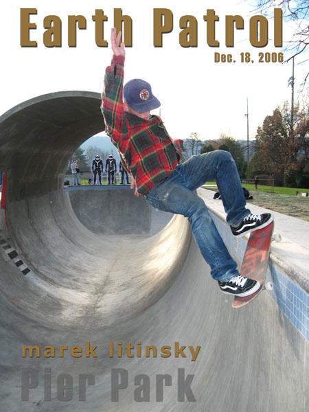 Marek Litinsky -FS Grind @ Pier