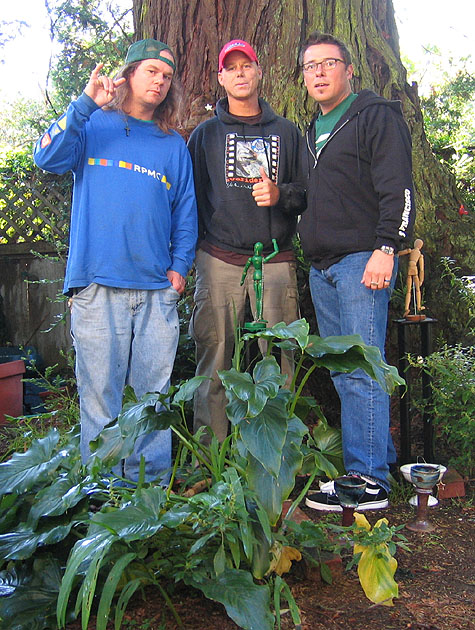 Dano, Ben and Rich - SF 2005