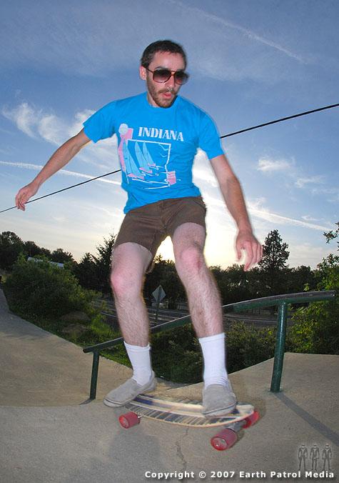 Retro Skater @ Aumsville