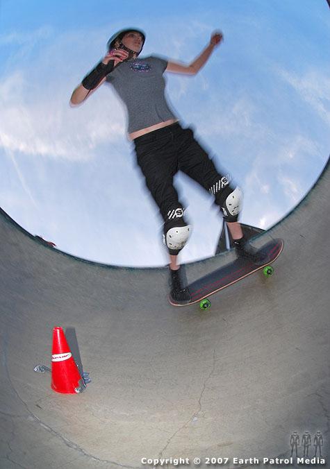 Skater in Pocket @ Aumsville