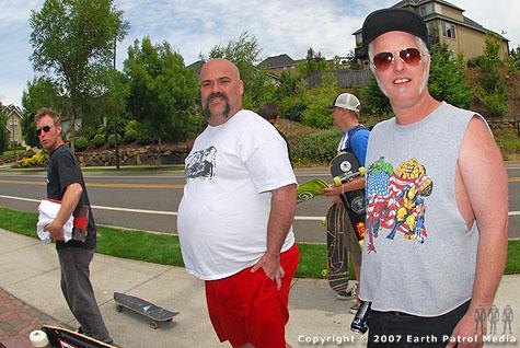 Skip, Thor, Chris and Mark @ West Linn
