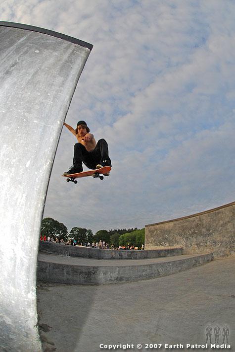Uknown - Ollie Stairs @ Battle Ground