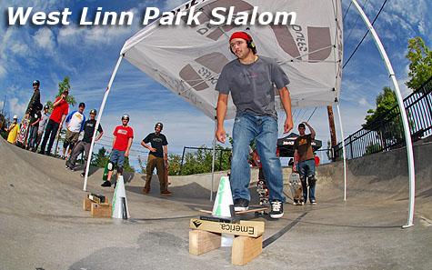 West Linn Park Slalom