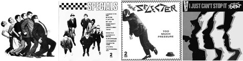 (l-r): Madness, Specials, Selecter and English Beat