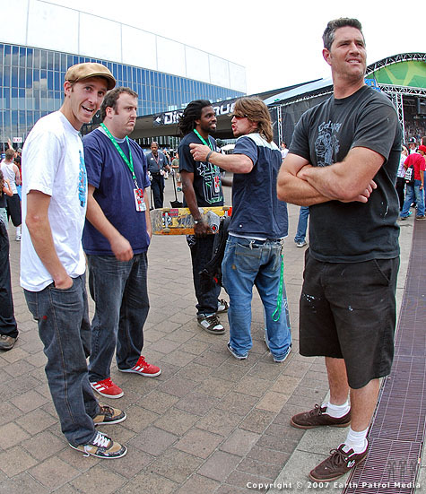 Tim, Colin, Benji and Grover - Entrance @ Dew Tour