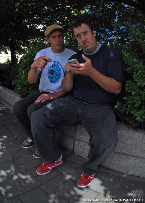 Tim and Colin - iPhone @ Dew Tour