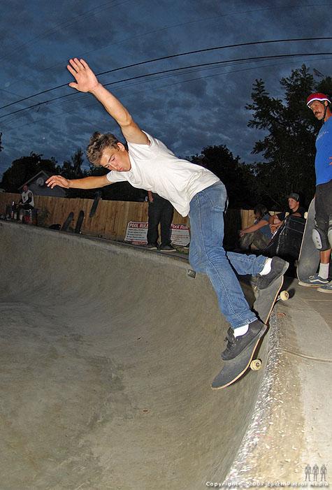 Matt - BS Smith @ Backyard Bowl