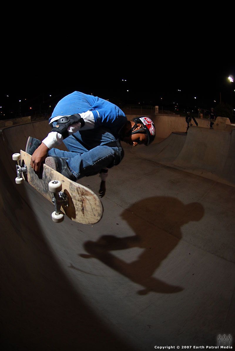 Skater - BS Air @ Pro Park