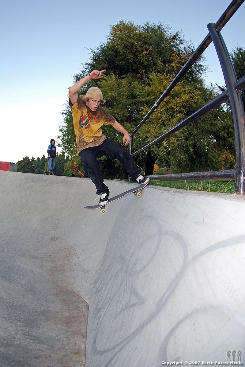 Andy - FS Tailslide @ Pier Park