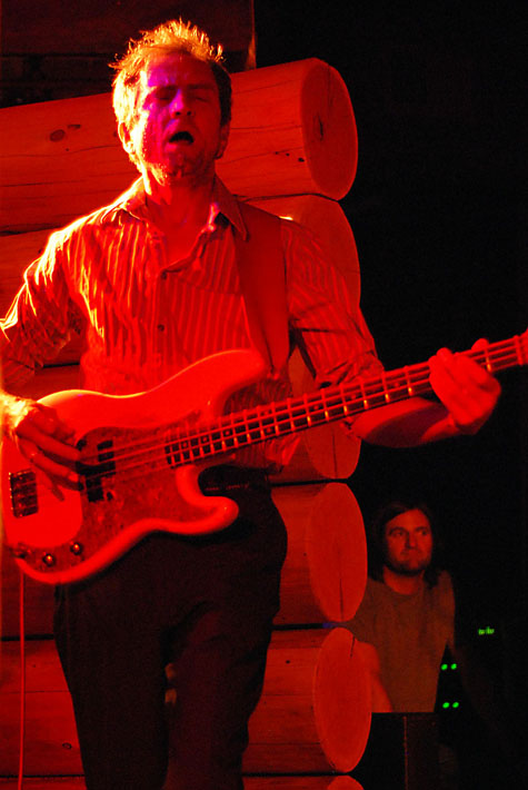 Francis Black - Bassist @ Doug Fir