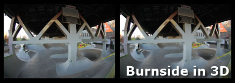 Burnside in 3D