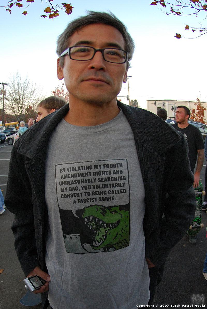 MC - Dino Shirt @ Tigard