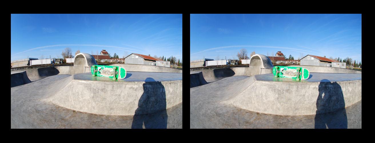 Battle Ground in 3D: West View