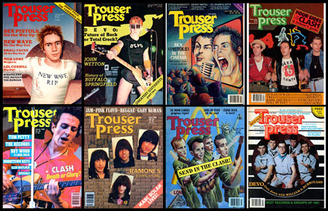 Trouser Press Covers